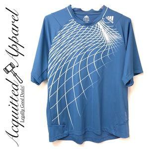 Adidas   Climalite Short Sleeve Atheltic Shirt